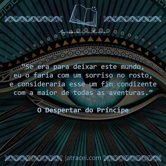 Livro - O Despertar do Príncipe