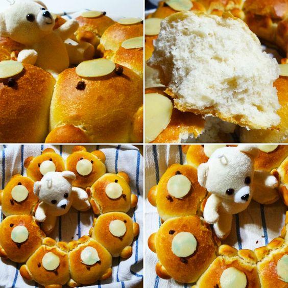 Il pan orsacchiotto è ideale per il buffet di compleanno dei bambini! Un modo carino e simpatico di presentare dei panini morbidi morbidi.