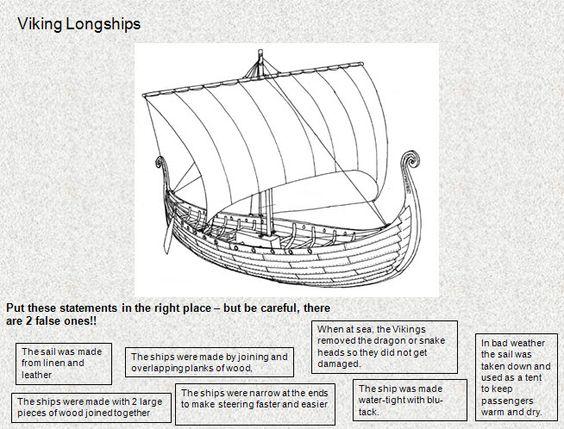 viking longboat worksheet 39 true or false 39 activity about viking longboats vikings. Black Bedroom Furniture Sets. Home Design Ideas