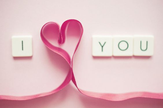 I love pink. I love letters. I love hearts. And everything about love reminds me of you... you are my life, Alessio.