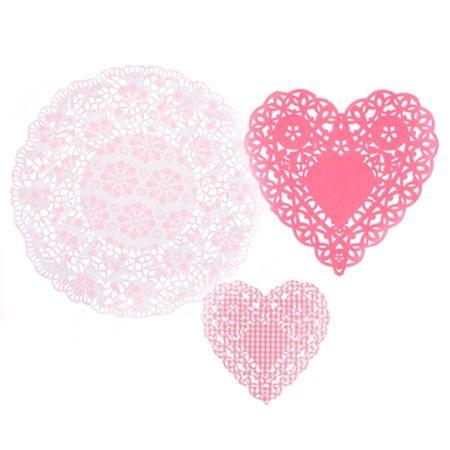 DOILIES - Herzen