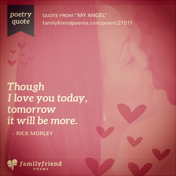 I Love You Poetry Quote These Lines Are Just One Of Many Beautiful Thoughts In The