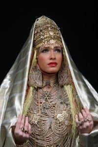 robe de mariage algérienne Traditionnelle Chaada Tlemcenia