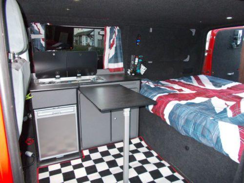 Ford Transit Sport Van Camper Day