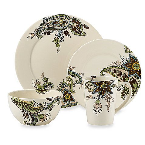 Paisley Dishes Bed Bath Beyond