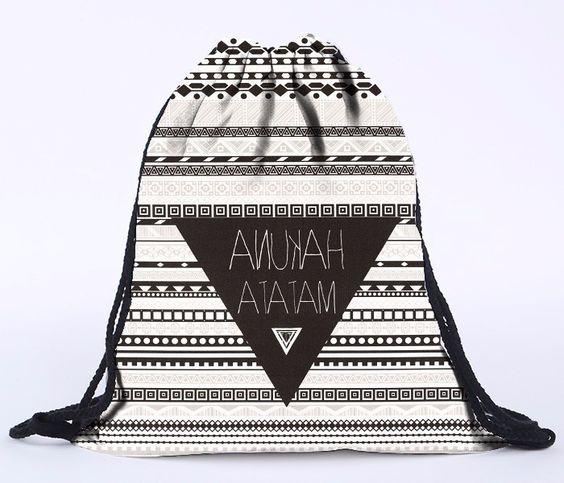 alice drawstring bag fashion 3d print backpacks cartoon animal Women backpacking Backpack emoji girls travel softback Girl bag