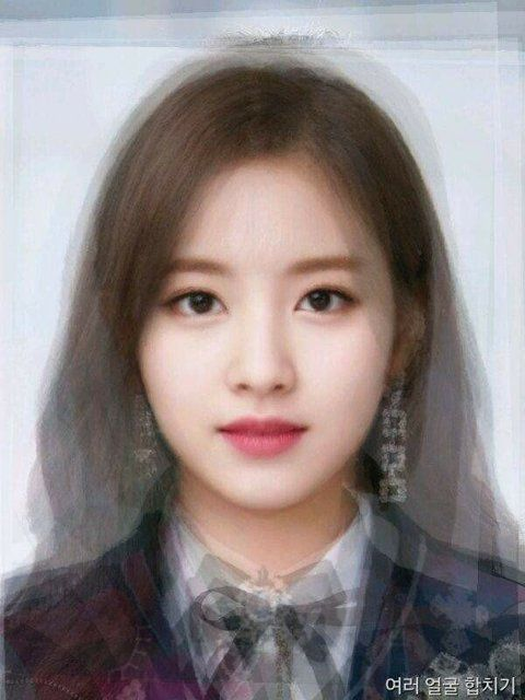 9 Kpop Female Idols Face Merge Challenge Face Blender Average Face Face