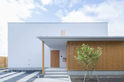 モダン オシャレ かっこいい シンプルな外観の家26選 住宅 外観