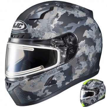 HJC CL-17 Void Mens Sled Electric DOT Riding Snowmobile Helmets