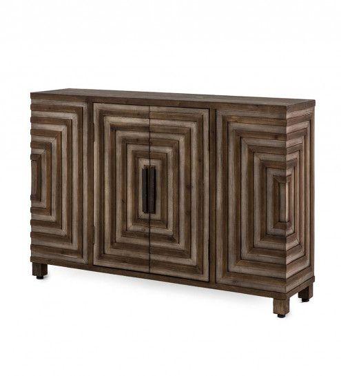 Geo Design Narrow Hall Console Cabinet Vivaterra Console