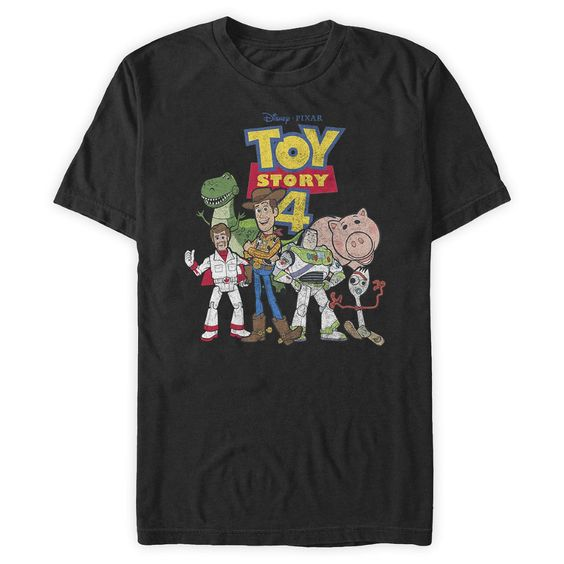 Toy Story 4 T-Shirt for Adults
