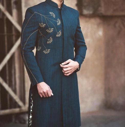 40 Top Indian Engagement Dresses For Men Latest Groom Dress Ideas For Engagement Party Indian Engagement Dress Wedding Dresses Men Indian Wedding Kurta For Men