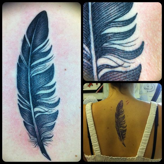 feather tattoo!