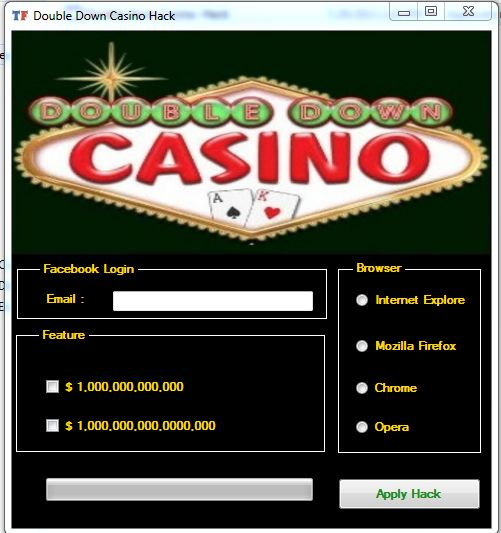 Double down casino hack tool free download cyber casinos