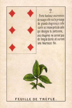 2. Clover - Björn Meuris Lenormand | World Divination Association