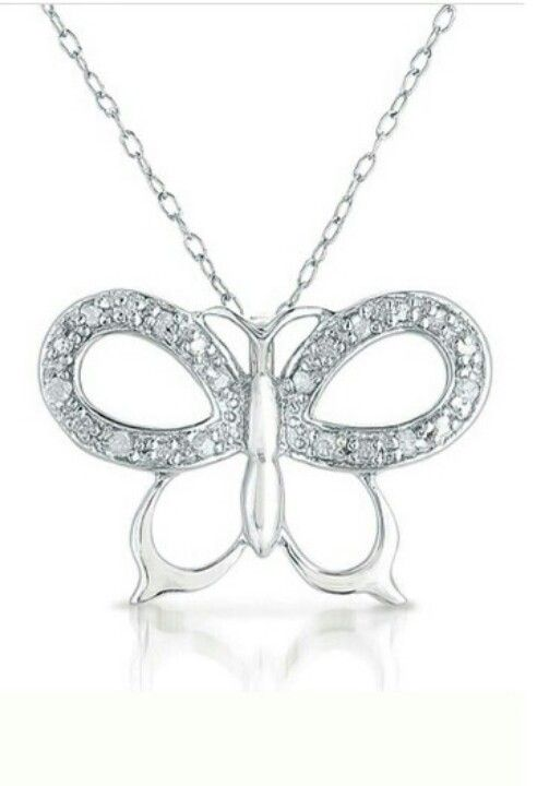 Another Butterfly Necklace - Love them!