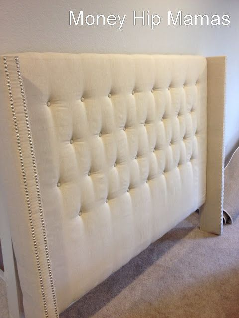My Frugal Dime Diy Upholstered Headboard Also Check Out Daintypeach Co Tips And Tricks Pinterest
