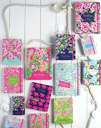 2014 Large Lilly Pulitzer Agenda, Most Patterns In Stock - JUST ARRIVED!
