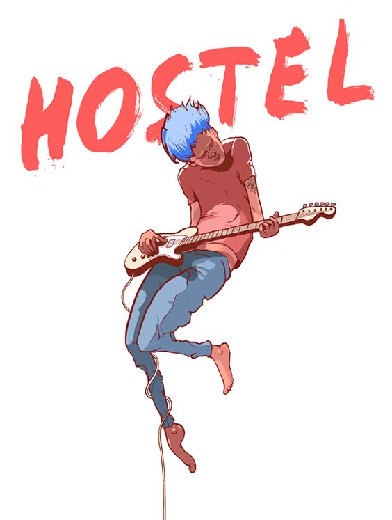 Hostel music festival by Mike M