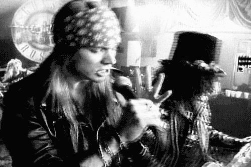 AXL Rose sweet child of mine