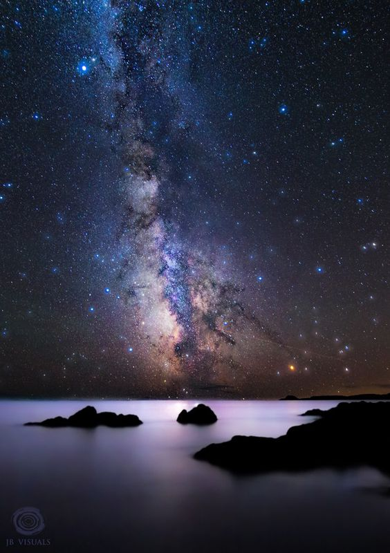 Milky way explosion by Jared Blash on 500pximage from an amazing adventure in maine
