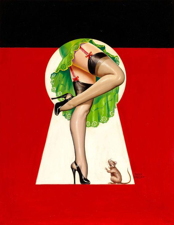 Peter Driben, Cover Art for Whisper.