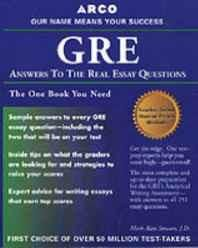 GRE CAT Answers to Real Essay Questions Paperback ? Import 31 May 2000