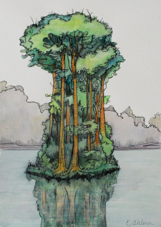 Simple Growth by EaEa on Etsy, $45.00