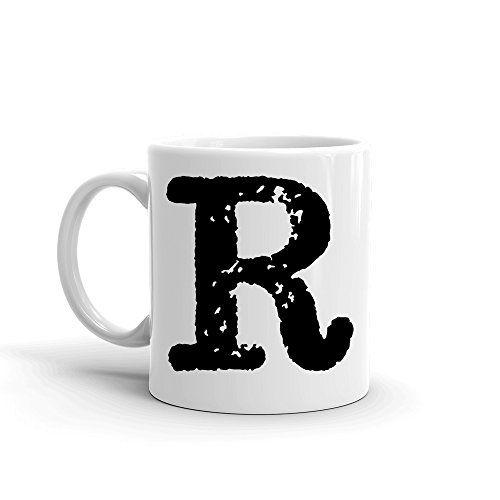 Details about  /Letter R Mug 11oz