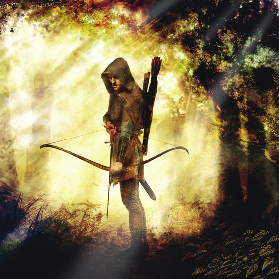 Robin Hood, by Christopher Rawlins | Book Illustrator | Military / Historical Artist
