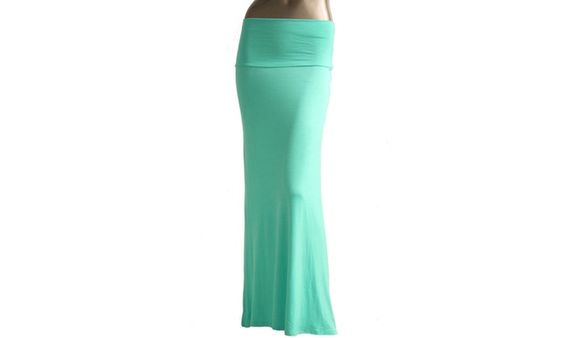 Azules Womens Maxi Skirt 9001RS-7
