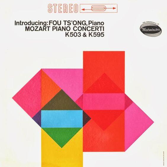 Introducing: Fou Ts'ong, Piano, Mozart Piano Cocerti , K503 & K595,  Westminster , Rudolph de Harak