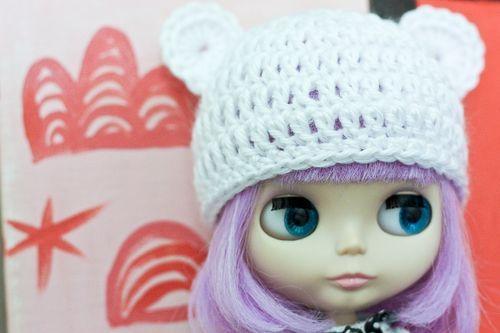 Crochet Hat Pattern For Blythe : .cutie bear hat pattern. Blythe Pinterest Free ...