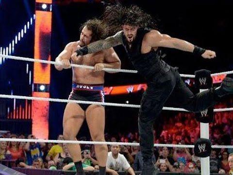 8/18 /16 WWE RAW 18 August 2016  Rusev Vs Roman Reigns Full Video Match