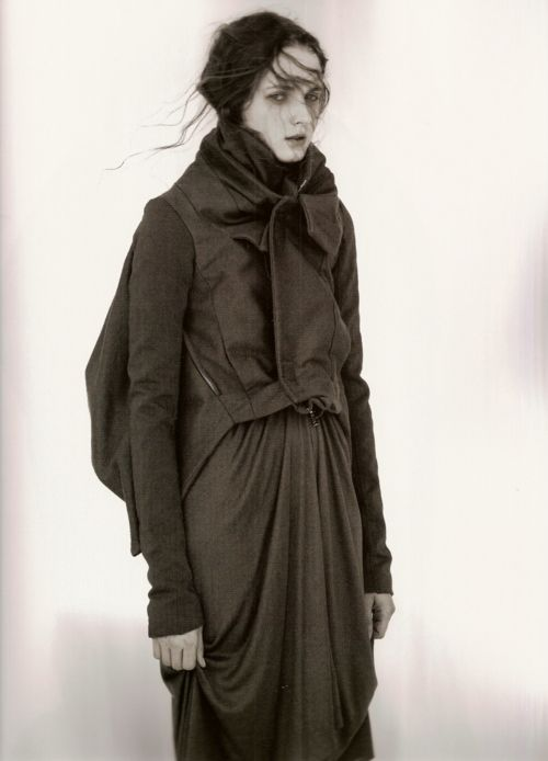 Rick Owens, 10 Magazine, Winter–Spring 2007–2008  photography andreas sjodin styling sophia neophitou