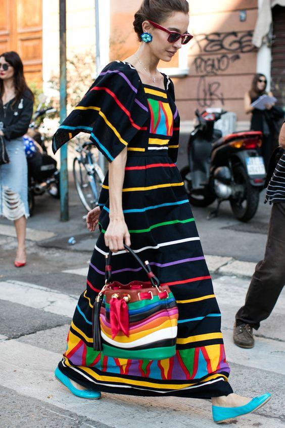 Resultado de imagen de street style milano 2017
