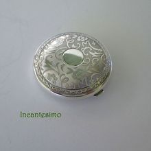 Sterling Silver Compact Vanity Mirror by Birks