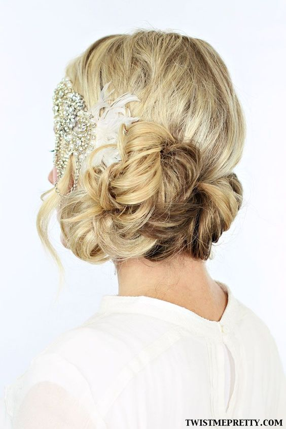 halloween wedding hair