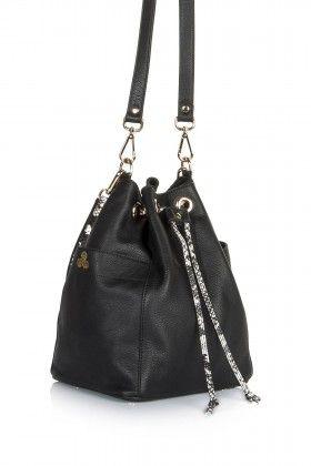 Hitt Bag Tumi Bucket Bag Siyah Çanta: Lidyana.com
