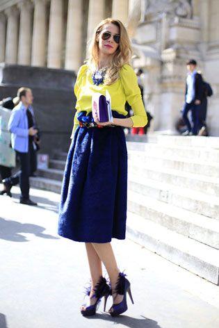 Ooh la la! It's Our Top 20 Street Style Looks From Paris Fashion Week   Grazia Fashion
