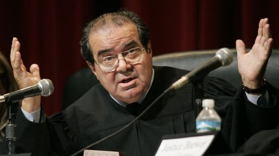 """Leaked Doc Shows Judge Scalia Final Prophetic Warning Before Death Just before his death, judge Scalia wrote an important warning for America. In his dissent from the Supreme Court's 5-4 decision in Obergefell v. Hodges, which declared that same-sex marriage was a right, Justice Antonin Scalia declared that this Supreme Court has become a """"threat …"""