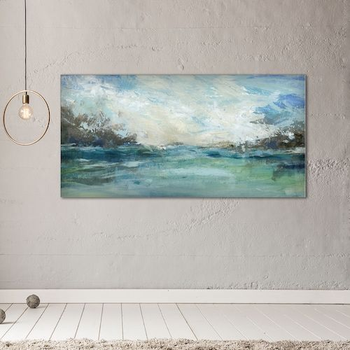 New View Wild Sea 24 X 48 Canvas Wall Art Wall Canvas Canvas Wall Art Wall Art