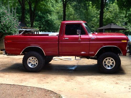 Used Ford 4x4 Trucks For Sale >> Custom 70s Ford Trucks Sell Used 1978 Ford F 150 Fully