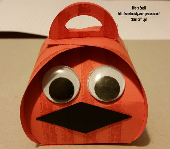 Halloween Creature (Jack-o-lantern) using the SU Curvy Keepsake Die!