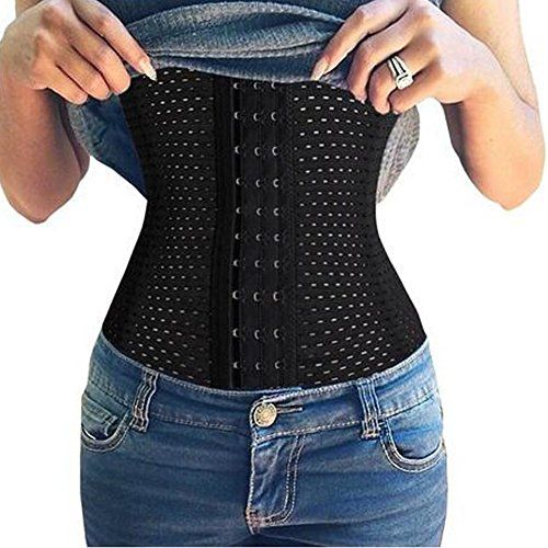 DODOING Women's Waist Trainer Corset Body Shaper Belt Hourglass Shapers ** Read more @ http://www.amazon.com/gp/product/B0188ZF00I/?tag=lingeriedirect-20&pde=010816025035
