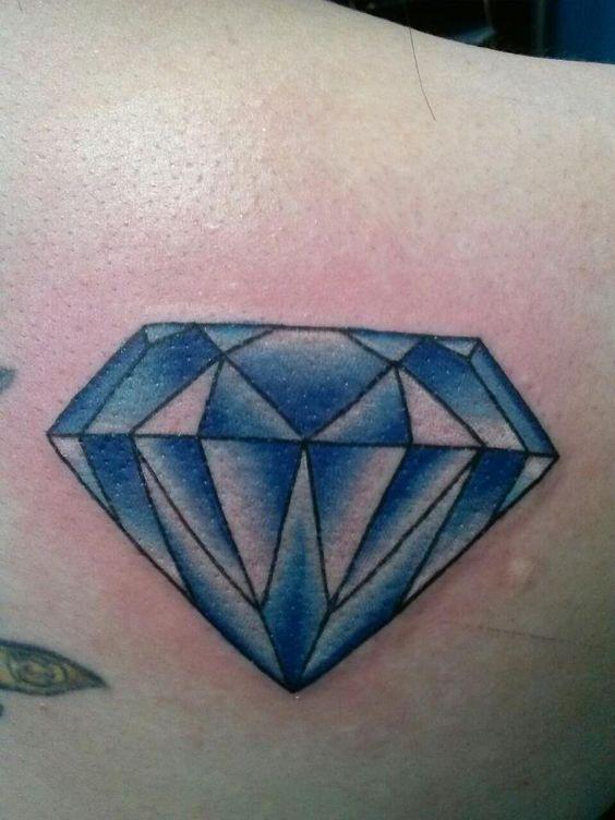 gemstones diamond tattoo designs and world on pinterest. Black Bedroom Furniture Sets. Home Design Ideas