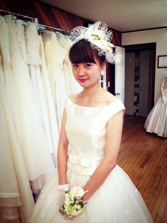 アオキセツコwedding dress