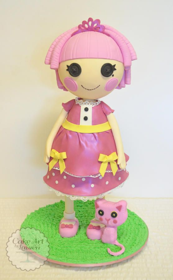 3D Standing Lalaloopsy Birthday Cake - Cake by Lauren: