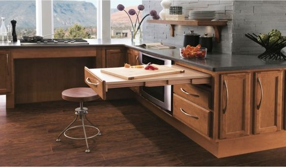 Universal Design Kitchen by Kraftmaid - Cutting Board