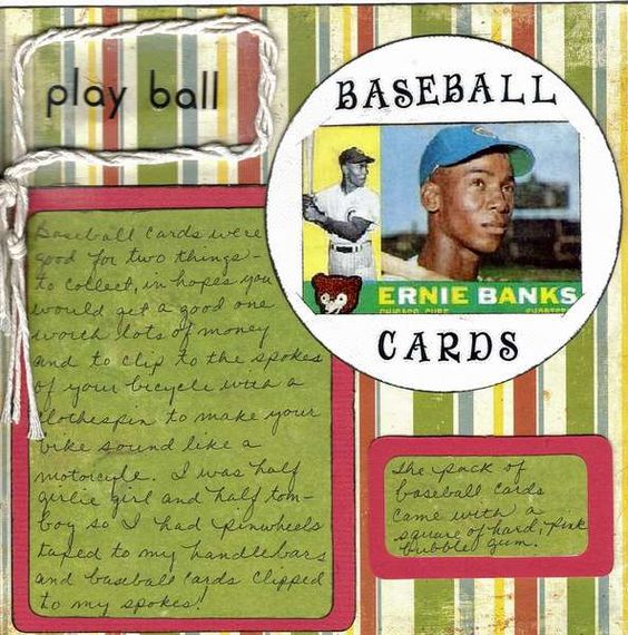 Baseball cards tomboys and journaling on pinterest for Things that are worth a lot of money